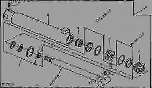 John Deere Model 70 Loader Parts Diagram