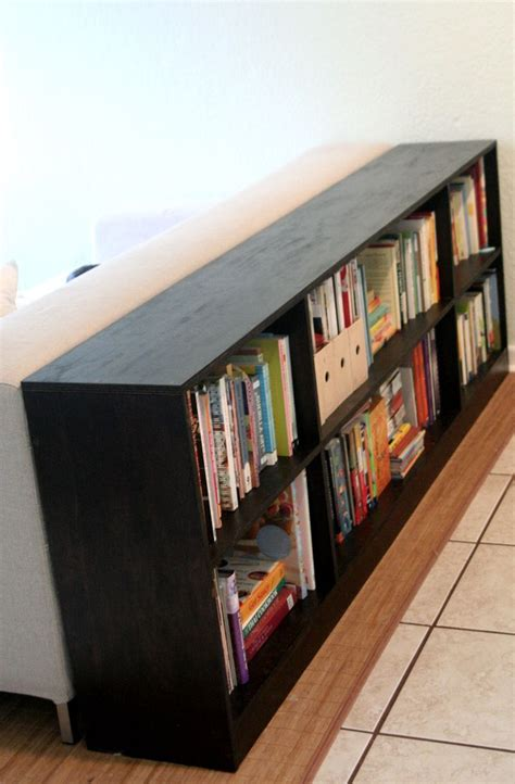 Bookcases Behind A Sofa  Home Designs