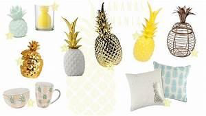 Objet Deco Ananas : d co ananas mania les petits riens ~ Teatrodelosmanantiales.com Idées de Décoration
