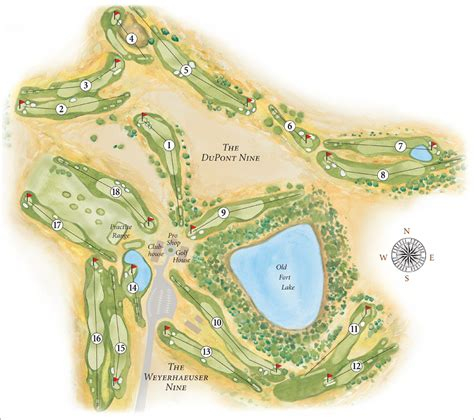 Course Map  The Home Course