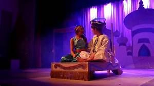 Aladdin & Jasmine Magic Carpet Ride - YouTube