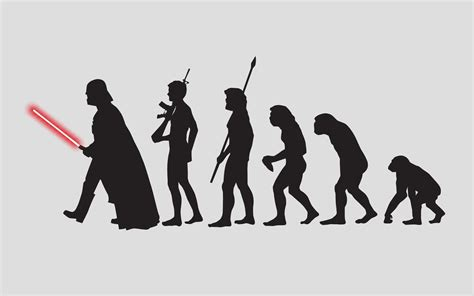 Evolution Wallpaper by Wars Science Fiction Darth Vader Evolution