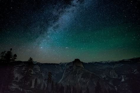 Night Sky Over Yosemite For Mac, Ipad