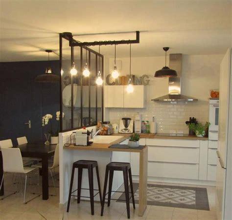 faience de cuisine relooking d 39 un espace cuisine salle à manger avec verrière