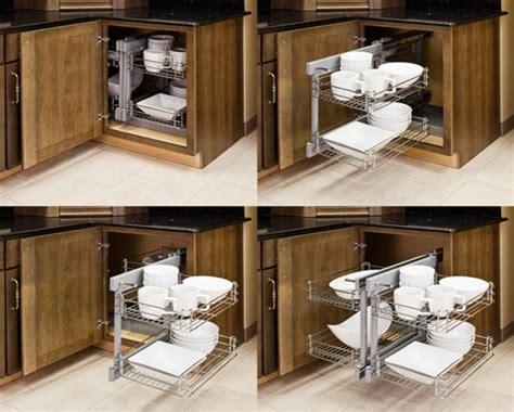 Kitchen Cabinet Organizers Pull Out, Blind Corner Kitchen