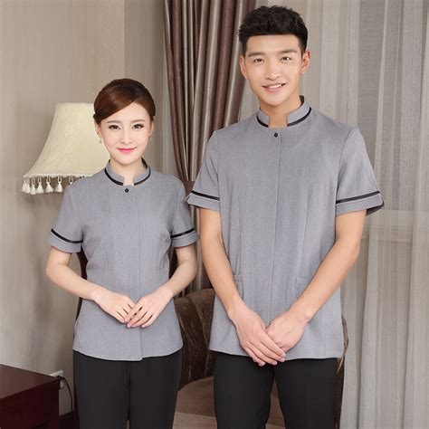 Cleaning clothes long sleeved autumn and winter hotel guest room attendant cleaning work clothes