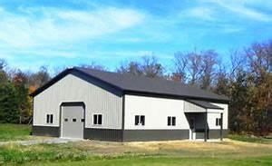 troy built buildings custom built pole barns and metal With 40x72 pole barn