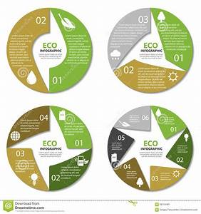 Ecology Circle Diagram  Round Infographic  Nature Concept