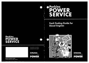Perkins Engine Fault Finding Guide