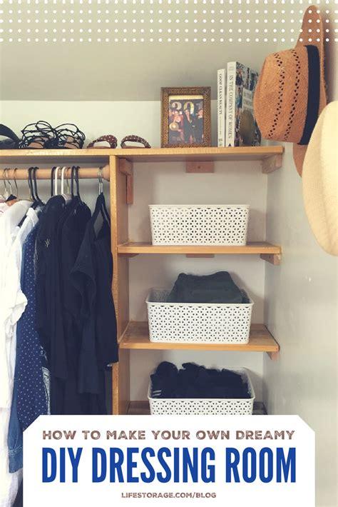 dream diy dressing room life storage blog