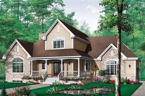 Country Style House Plan 3 Beds 2 5 Baths 2204 Sq/Ft