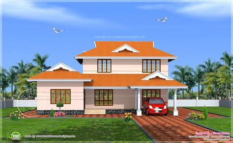 C&s Home Design : 228 Square Meter Kerala Model House Exterior