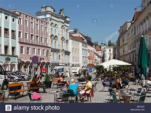 Town Square In Steyr  Upper Austria  Austria  Europe Stock Photo  25939884