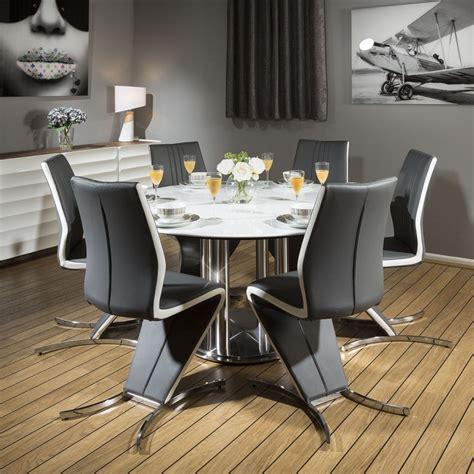dining set white cm  corian table   modern