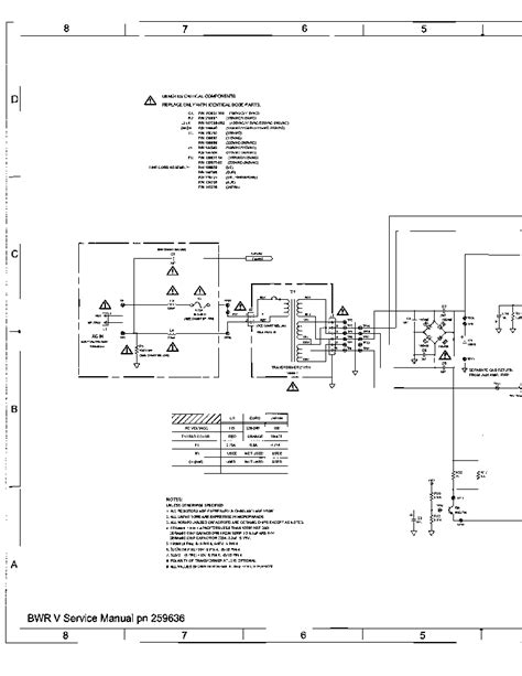 bose wave radio sch 255470 service manual