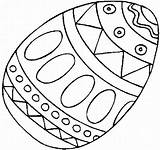 Easter Egg Coloring Pages Z31 sketch template