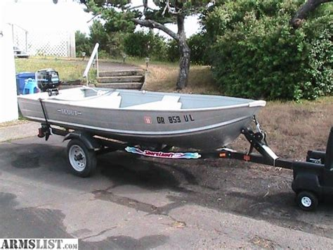 Small Metal Fishing Boats For Sale by Armslist For Sale Trade 12ft Aluminum Boat With Trailer