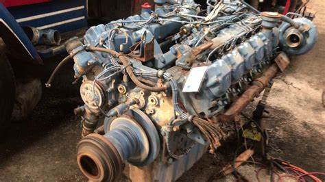 mercedes benz oma  industrial engine youtube