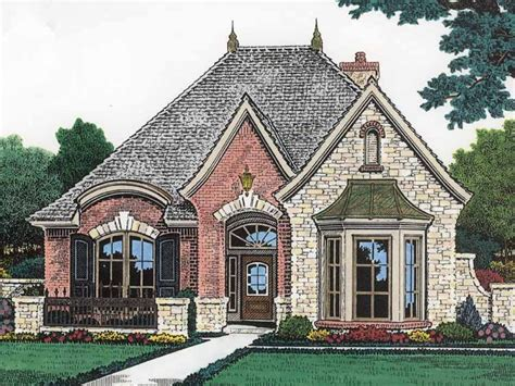 Country House Plans With Porches French Country House