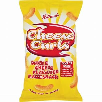 Cheese Curls Willards Maize 150g Snack Snacks