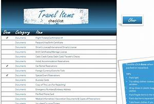 excel dashboard templates free travel items checklist my excel templates