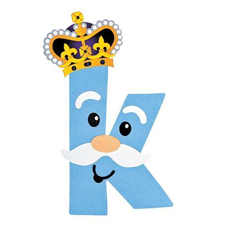 letter k crafts k is for king lowercase letter k craft kit