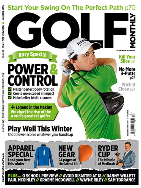 GOLF MONTHLY Magazine Rory McIlroy, Tiger Woods, Sam ...