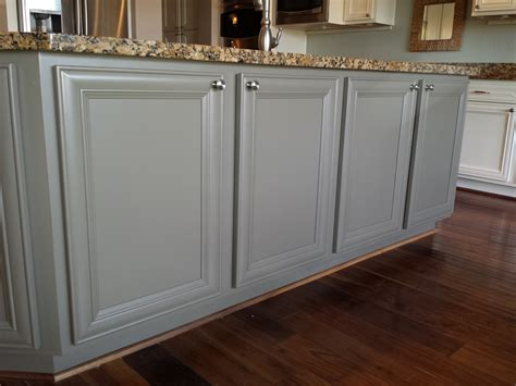 Restaining Oak Cabinets Grey by Painting Kitchen Cabinets Silver Quicua