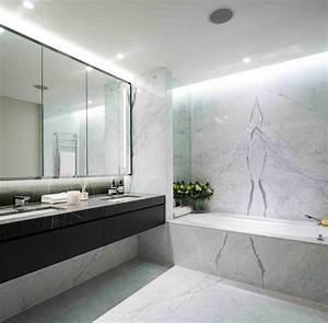 Bad Deckenbeleuchtung Led : marmor im bad vor und nachteile der marmorfliesen ~ Markanthonyermac.com Haus und Dekorationen