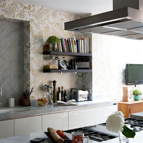 contemporary kitchen wallpaper kitchen wallpaper ideas 10 of the best 2526