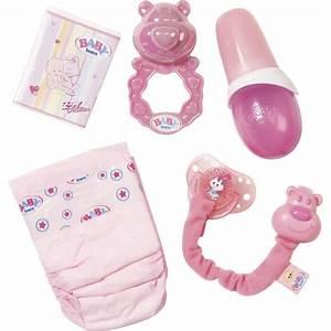 Accessoires Pour Poupon : baby born set 5 accessoires achat vente accessoire ~ Premium-room.com Idées de Décoration