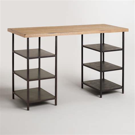 desks world market wood and craft height shelf colton mix match