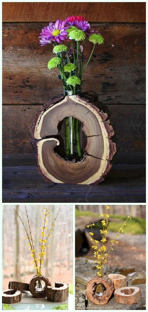wood logs  stumps diy ideas projects furniture