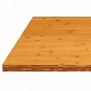 Plan De Travail Bambou : plan de travail cuisine en bambou bordeaux ~ Melissatoandfro.com Idées de Décoration