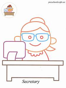 Job And Professions Coloring Pages For Preschool