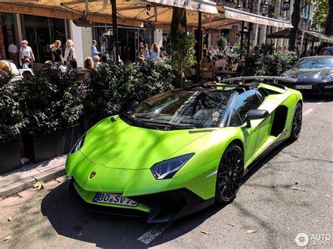 2018 lamborghini aventador superveloce roadster lamborghini aventador lp750 4 superveloce roadster 23 august 2018 autogespot