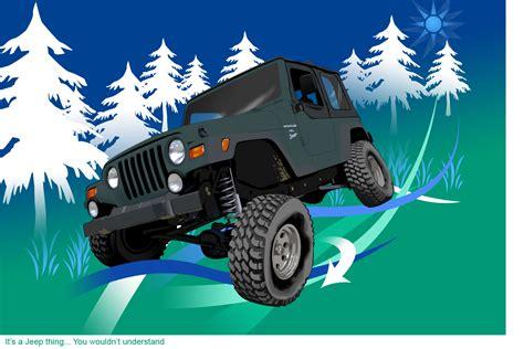 Show Me Your Cartoon Jeep!