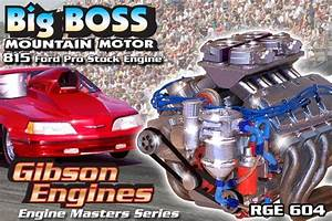 Big Boss Mountain Motor 815 Ford Pro Stock Drag Engine  Master Series   1  25   Fs