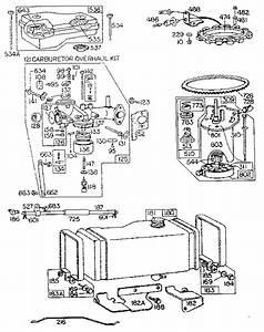 10 Hp  Engine Diagram  U0026 Parts List For Model