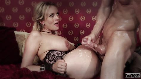 Stormy Daniels Gets Fucked In A Sexy Black Lace Basque