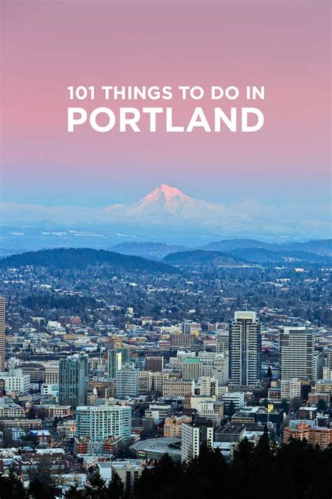 Ultimate Portland Bucket List (101 Things to Do in