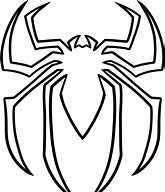 hd wallpapers spiderman symbol coloring page - Coloring Pages Spiderman Symbol