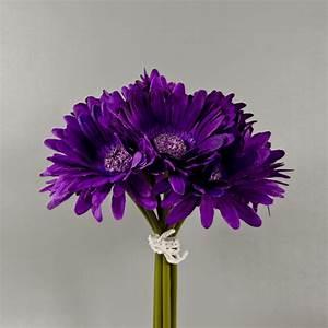 Purple Gerbera Daisy Bouquet   Half The Fun Is To Plan The ...