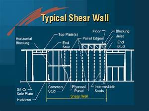 Wood Shear Wall Design Home Decor Interior Exterior