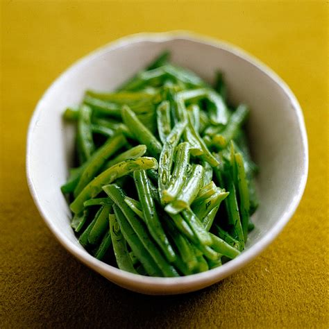 french cut green beans  dill butter recipe martha