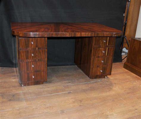 bureau vintage deco desk writing table bureau rosewood vintage furniture