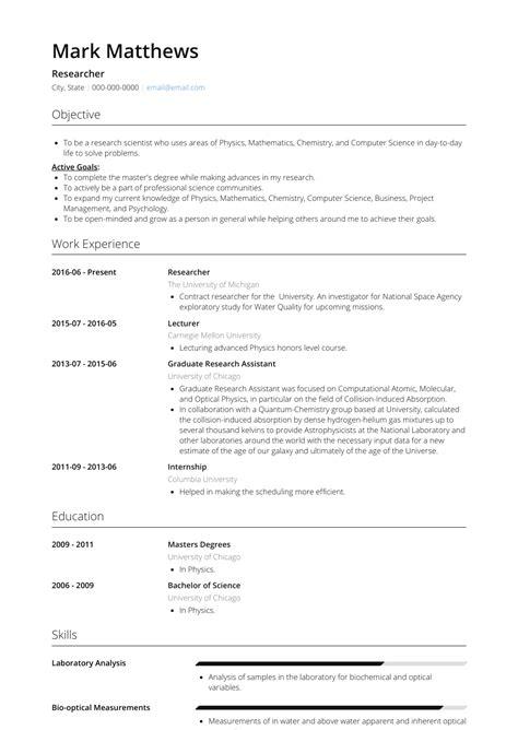 real professional resume samples visualcv