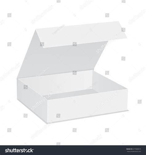 Psd mockup id 22341 in box mockups 8 0 0. Open Gift Box Lid Isolated On Stock Vector 677080015 ...