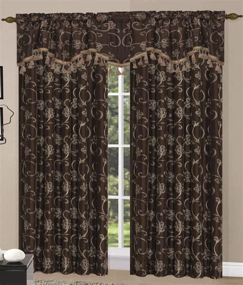 megan curtain panels burgundy luxury home textiles