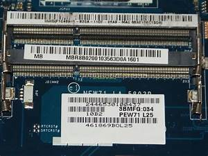 Motherboard New71 La  No Lan